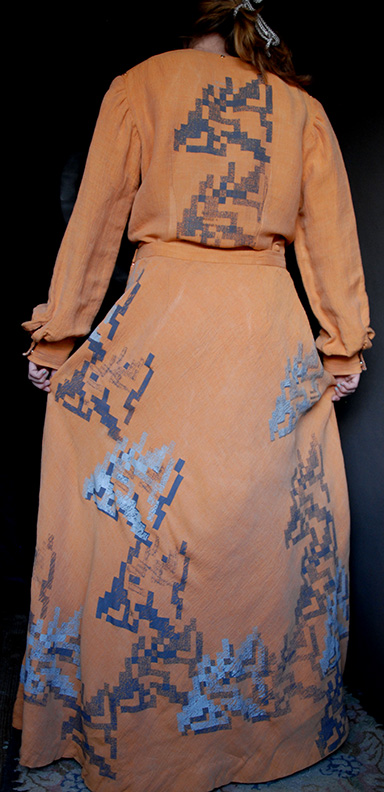 Sanzi Kermes, Textiles, Prairie Dress